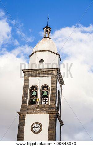 Beautiful Church Of San Gines In Arrecife