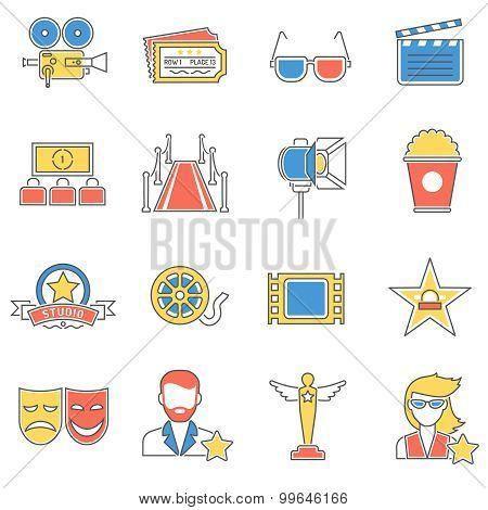 Movie Icons Line