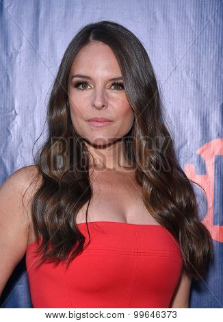 LOS ANGELES - AUG 10:  Yara Martinez arrives to the Summer 2015 TCA's - CBS, The CW & Showtime  on August 10, 2015 in West Hollywood, CA