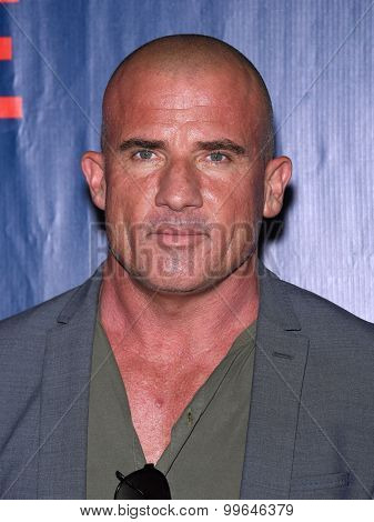 LOS ANGELES - AUG 10:  Dominic Purcell arrives to the Summer 2015 TCA's - CBS, The CW & Showtime  on August 10, 2015 in West Hollywood, CA