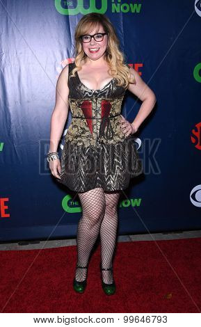 LOS ANGELES - AUG 10:  Kirsten Vangsness arrives to the Summer 2015 TCA's - CBS, The CW & Showtime  on August 10, 2015 in West Hollywood, CA