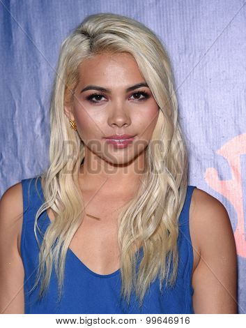 LOS ANGELES - AUG 10:  Hayley Kiyoko arrives to the Summer 2015 TCA's - CBS, The CW & Showtime  on August 10, 2015 in West Hollywood, CA