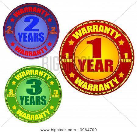 Garantie-Etiketten