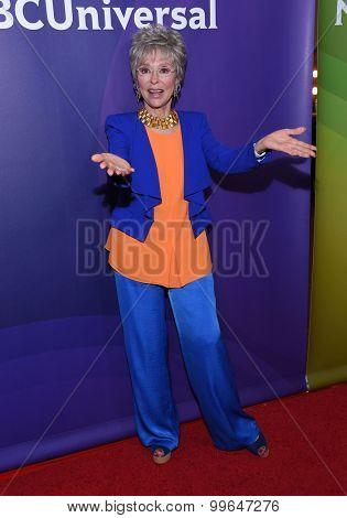 LOS ANGELES - AUG 12:  Rita Moreno arrives to the arrives to the Summer 2015 TCA's - NBCUniversal  on August 12, 2015 in Beverly Hills, CA