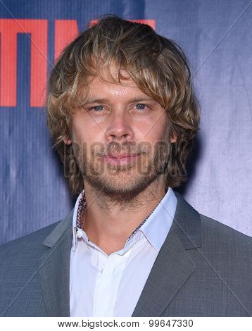LOS ANGELES - AUG 10:  Eric Christian Olsen arrives to the Summer 2015 TCA's - CBS, The CW & Showtime  on August 10, 2015 in West Hollywood, CA