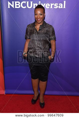 LOS ANGELES - AUG 12:  Marianne Jean-Baptiste arrives to the arrives to the Summer 2015 TCA's - NBCUniversal  on August 12, 2015 in Beverly Hills, CA