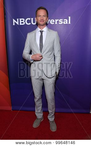 LOS ANGELES - AUG 13:  Neil Patrick Harris arrives to the Summer 2015 TCA's - NBCUniversal  on August 13, 2015 in Hollywood, CA