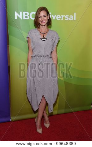 LOS ANGELES - AUG 12:  Daisy Betts arrives to the arrives to the Summer 2015 TCA's - NBCUniversal  on August 12, 2015 in Beverly Hills, CA