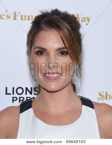 LOS ANGELES - AUG 19:  Nikki Moore arrives to the