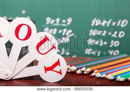 School Colorful Stationary
