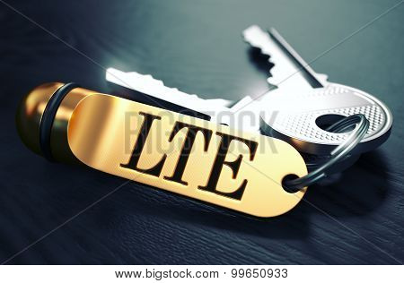 Keys with Word LTE on Golden Label.