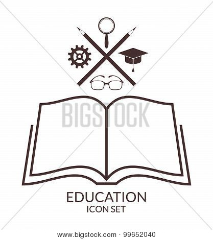 Education. Icon Set