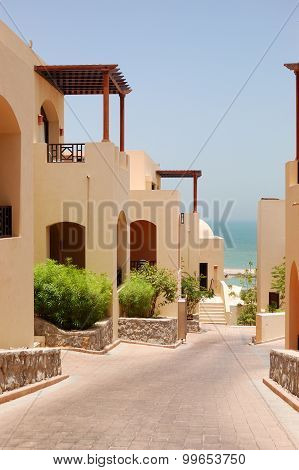 The Arabic Style Villas At Luxury Hotel, Dubai, Uae