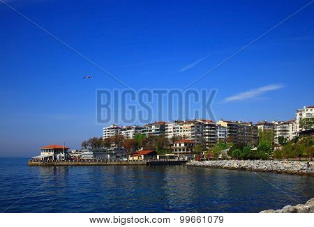 View Of The Moda (kadikoy), Istanbul.