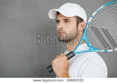 Tennis Is His Passion.