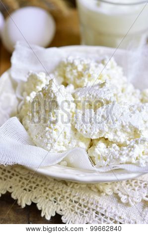 Homemade Cottage Cheese.