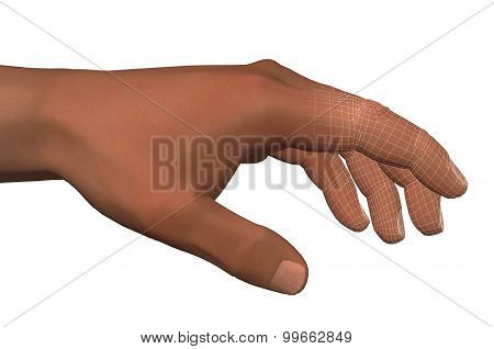Human Hand Artificial Intelligence