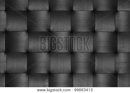 Black Leather Weave Pattern