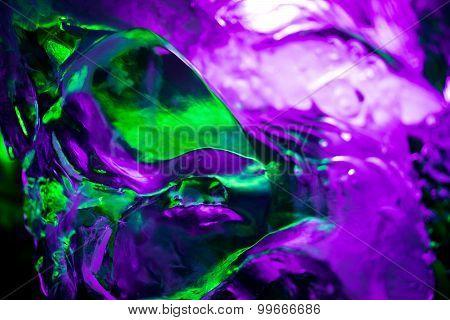 Green Purple Ice