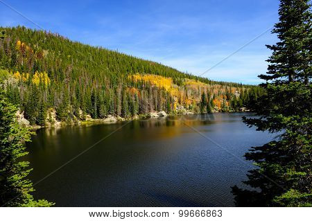 Bear Lake In Fall