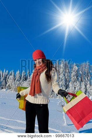 Outdoor Season Fashion Wintry Fun