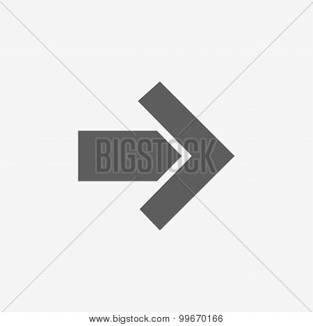 modern arrow icon