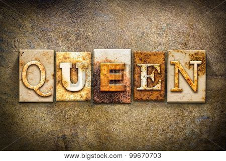 Queen Concept Letterpress Leather Theme