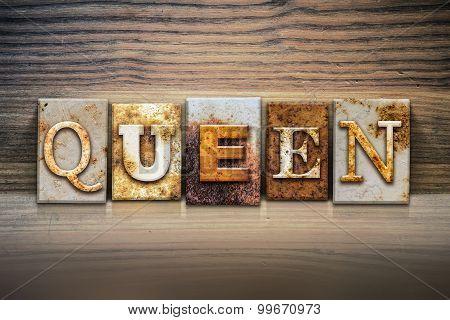 Queen Concept Letterpress Theme