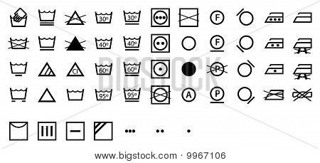 International Laundry Symbols