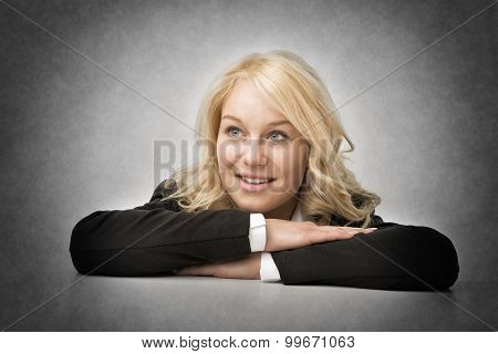 Smililng Business Woman