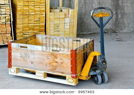 Pallet Jack Box