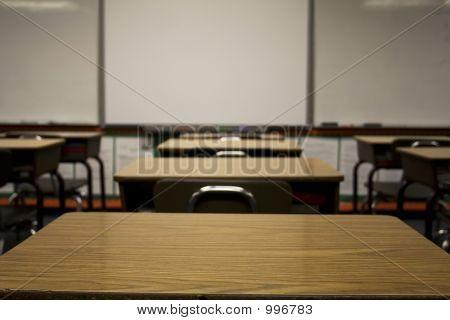 Desks Facing Forward