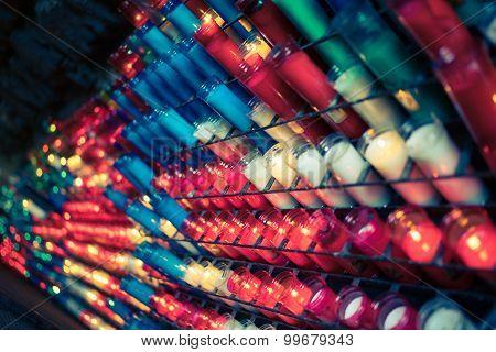 Many Barca Candles
