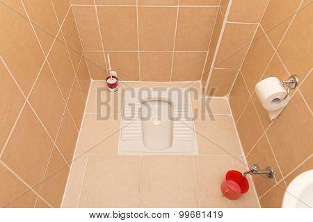 Turkish Alaturka Toilet