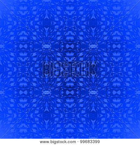 Seamless pattern blue shades