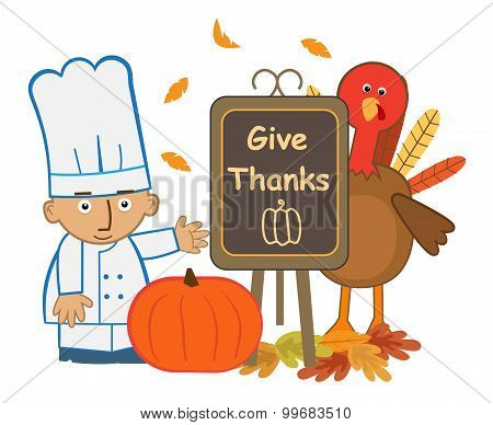 Give Thanks Chef