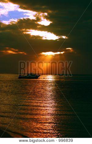 Boat Sunset