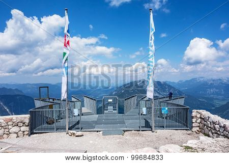 Five Fingers Observation Deck, Obertraun, Austria
