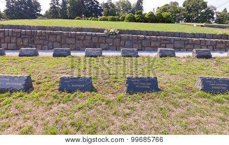 Military Cemetery Of Slavin Memorial In Bratislava