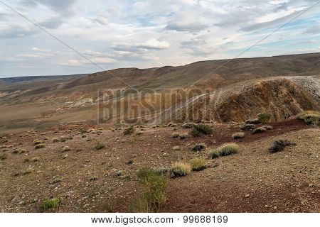 Mountains Steppe Desert Top