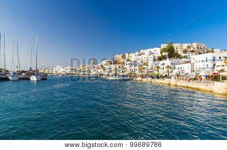 Chora Town, Naxos Island, Cyclades, Aegean, Greece