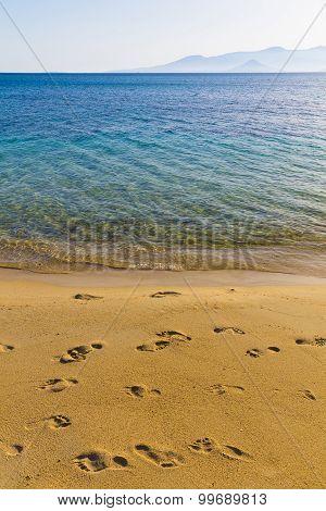 Agia Anna Beach, Naxos Island, Cyclades, Aegean, Greece