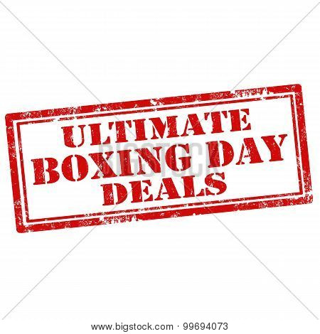Ultimate Boxing Day Deals