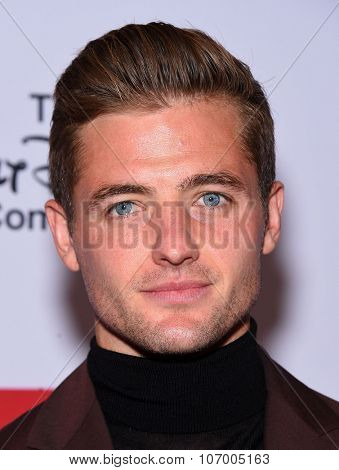 LOS ANGELES - OCT 23:  Robbie Rogers arrives to the GLSEN Awards 2015 on October 23, 2015 in Hollywood, CA.