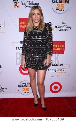 LOS ANGELES - OCT 23:  Jessica Capshaw arrives to the GLSEN Awards 2015 on October 23, 2015 in Hollywood, CA.