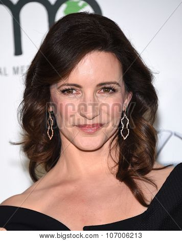 LOS ANGELES - OCT 24:  Kristin Davis arrives to the 25th Annual Environmental Media Awards on October 24, 2015 in Hollywood, CA.