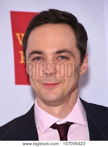 LOS ANGELES - OCT 23:  Jim Parsons arrives to the GLSEN Awards 2015 on October 23, 2015 in Hollywood, CA.