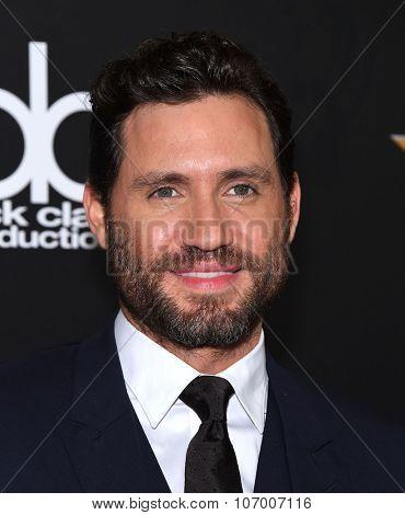 LOS ANGELES - NOV 1:  Edgar Ramirez arrives to the Hollywood Film Awards 2015 on November 1, 2015 in Hollywood, CA.