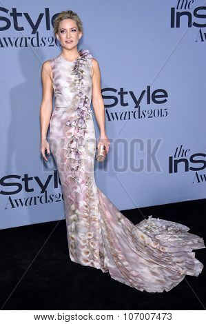 LOS ANGELES - OCT 26:  Kate Hudson arrives to the InStyle Awards 2015  on October 26, 2015 in Hollywood, CA.