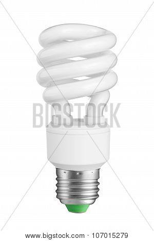 Light Bulb. Isolated On White